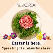 來missKOREA歡慶復活節!Happy Easter !