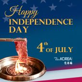 烟花配燒烤,歡慶獨立日!