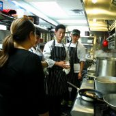Chefs are also contributing their gift for the Sandy Relief Fundraising Event