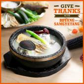 Give Thanks with Boyang Samgyetang!
